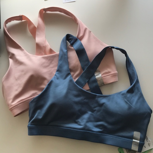 Forever 21 Other - Forever21 pink blue sports bras